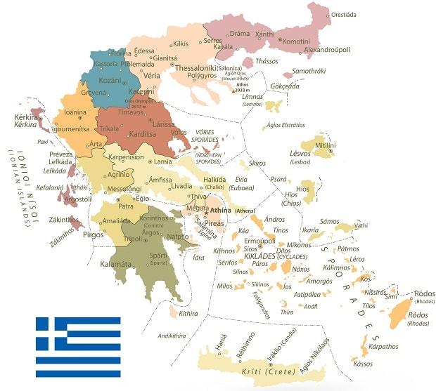 griekenland-eilanden-kaart-plattegrond-informatie