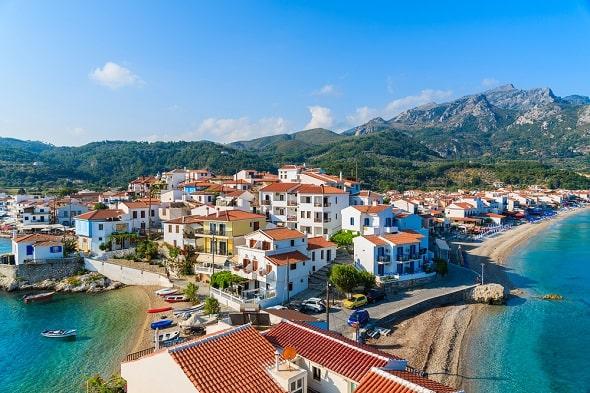 kokkari-badplaats-samos-griekenland-vakantie