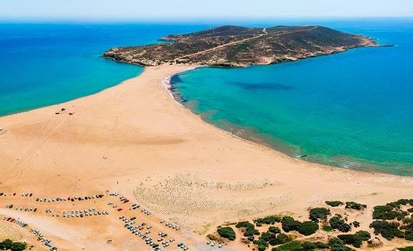 prasonisi-kite-surfen-rhodos-stranden