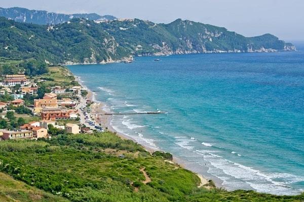 arillas-corfu-badplaatsen-vakantiebestemming