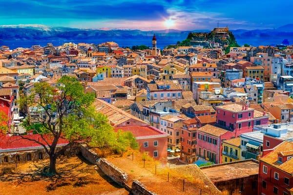 corfu-stad-kerkyra-bezienswaardigheden-informatie
