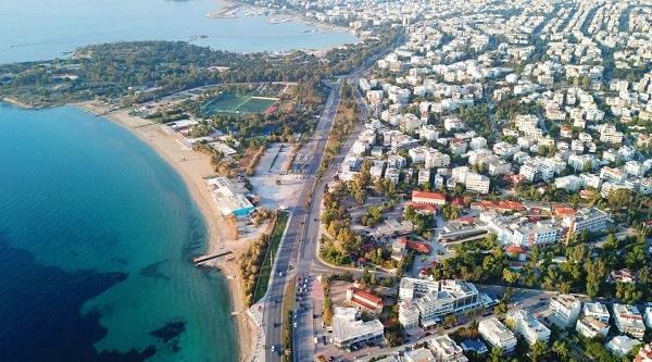 wijken-athene-luxe-glyfada-strand-vakantie
