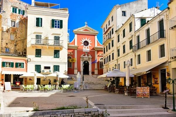 corfu-stad-kerkyra-centrum-bezienswaardigheden